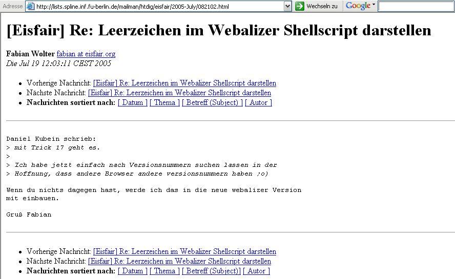 Server und Router - eisfair und fli4l